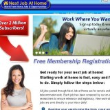 Next Job at Home a Scam? | Reviews Logo