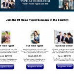 Type At Home – Typing Jobs a Scam? Logo