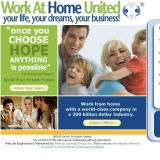 Work At Home United a Scam or Legitimate? | Reviews Logo