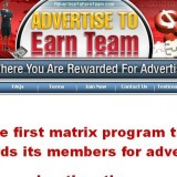 Advertise to Earn Team a Scam or Legitimate? Logo