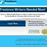 Freelance Writer University a Scam? Logo