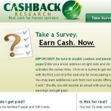 Cashback Research a Scam? | Reviews Logo