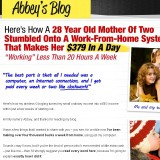 Abbey's Blog a Scam? | Reviews Logo