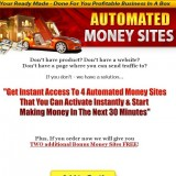 Automated Money Sites a Scam? Logo