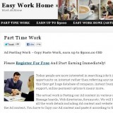 Easy Work Home a Scam? Logo