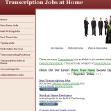 Transcriptions Jobs At Home a Scam? | Reviews Logo