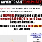 Covert Cash Conspiracy a Scam or Legitimate? Logo
