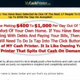 My Cash Printer a Scam? Logo