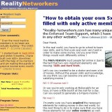 Reality Networkers a Scam? | Reviews Logo