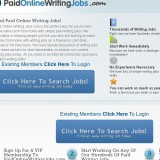 Paid Online Writing Jobs a Scam or Legit? | Reviews Logo