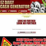 EZ Daily Cash Generator a Scam? | Reviews Logo