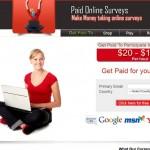Paid Online Surveys a Scam? Logo