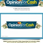 Opinion For Cash a Scam? | Reviews Logo