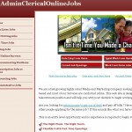 Admin Clerical Online Jobs a Scam? | Reviews Logo