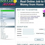 Dollars Income a Scam? Logo