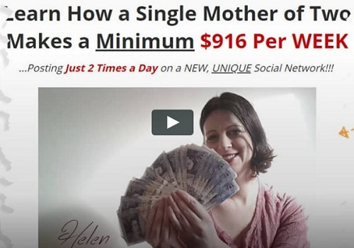 Single Mother Makes Money
