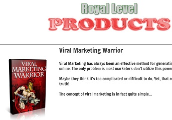 Ultra Royal Package PLR Products